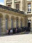 A busy morning for marriages at the Mairie