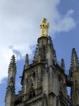 Our Lady of Aquitaine, glinting in the sun